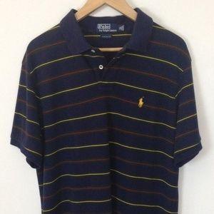 POLO RALPH LAUREN Short Sleeve XL Stripes Shirt